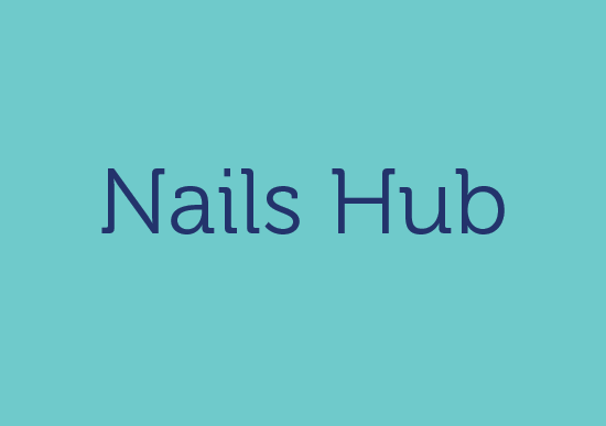 NAILS HUB logo
