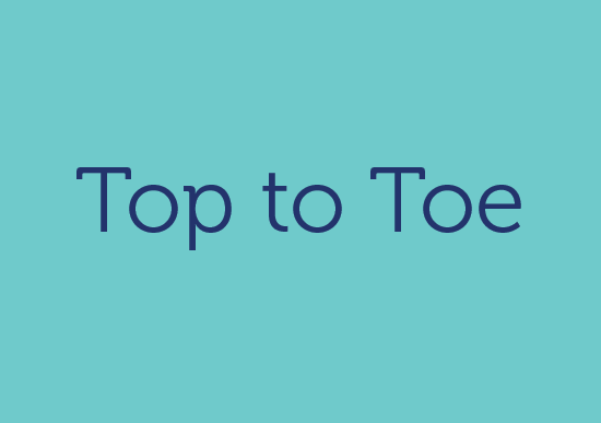 TOP TO TOE logo