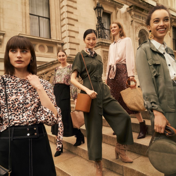 <p>Our Utility Chic collection bridges the gap between women's work-wear and weekend street style. Our prints celebrate flora and fauna with tropical leaves and new animal options that will work for women 7 days a week.</p>