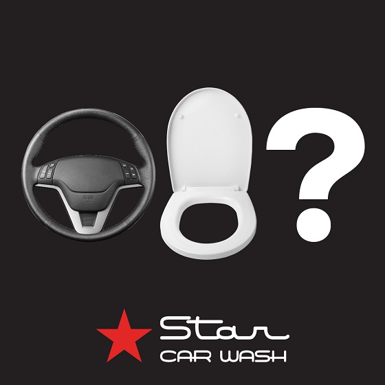 <p>Which has more germs, your steering wheel or a public toilet seat?  Research shows your steering wheel has up to 12 times more germs!</p> <p>Go see the team at Star Car Wash, they care passionately about getting your car clean and are offering an incredible 25% off ALL wash services until the end of June 2020, every wash also gets a FREE antibacterial wipe on all interior touch surfaces.  Happy cleaning!</p>