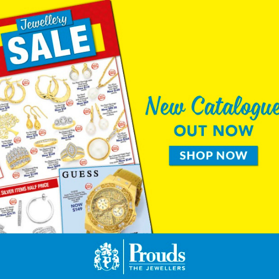 <p>Dreaming of Jewellery? Diamonds, Gold, Silver and Watches?</p> <p>Prouds The Jewellers Jewellery & Watch Sale is on now!</p> <p>With 50% off or more on Sale items it's now time to visit Prouds!</p> <p>Sale on now.</p> <p>Ends 25 October 2020.</p>